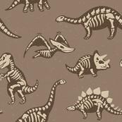 Dinosaur skeletons