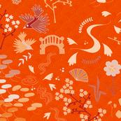 J-pop Garden (orange)