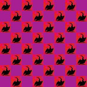 Cormorant     1  inch Check