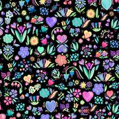 Bright Floral Delight