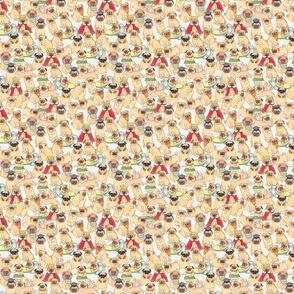 pug dog pattern