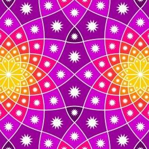 SC3 log spiral + stars : karmic