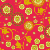 Festival of Happiness - Autumn Red