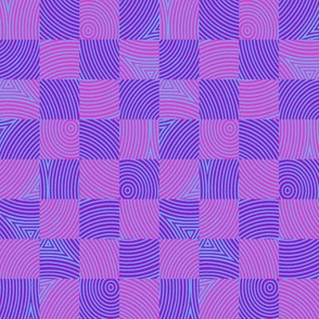 circle checker in Bob's purple/pink