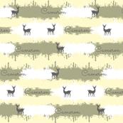 deer camo  2  LG - cream-personalized 3