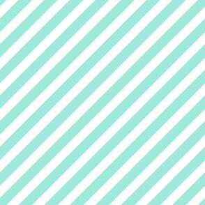 mint diagonal stripe kids nursery baby sweet mint