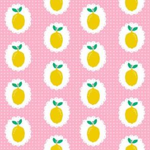 sweet lemon citrus pink girls sweet summer fruit picnic