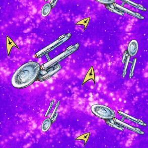 Star Trek Enterprise (purple)