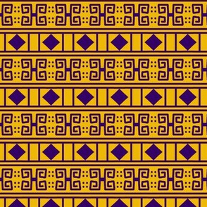 Scrolls Diamonds 1 Gold Violet