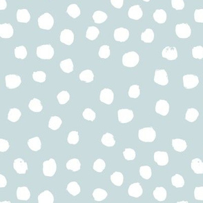 soft blue dots spots painted dot soft blue