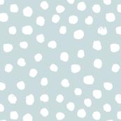 soft blue dots spots painted dot soft blue