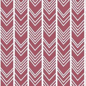 Smoky Purple Chevron - herringbone