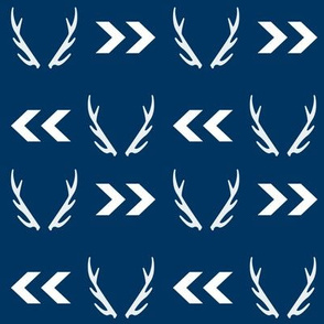 antler antlers boys navy navy blue kids boys nursery hunting lodge buck deer antlers