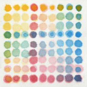 Watercolour litmus paper