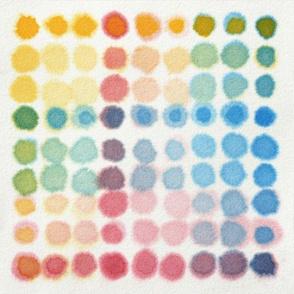 Watercolour litmus paper