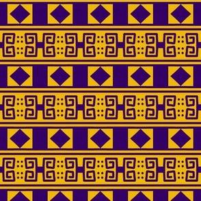 Scrolls Diamonds 2 Gold Violet