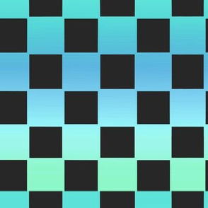 Cyan Checkers