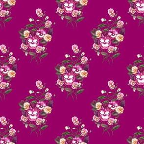 Pansy Purple Magenta Plum