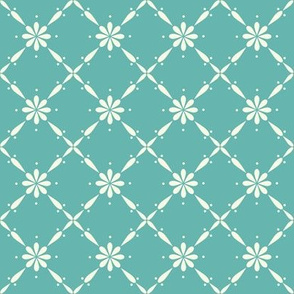 Charlotte_Farmhouse Diamond_Turquoise