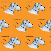 Schnauzer  Standard Dog -ed