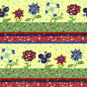 Char: Patchwork Flower Garden