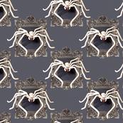 Giant Huntsman Spider Damask
