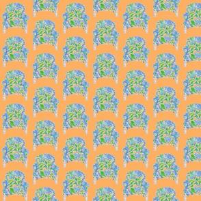 Serendipity Chair # 4 Orange/Blue/Green/Pink