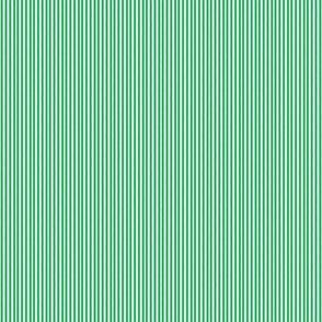 Serendipity Stripes #7 Grass Green/White