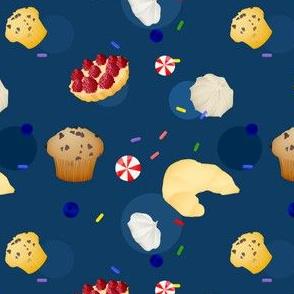 Baked Goods in Navy