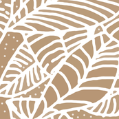 Coffee Leaves Batik Repeating