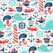 Ahoy Matey Nautical