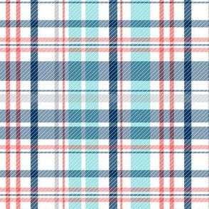 Deck Chair Plaid Nautical