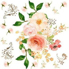 Western Floral Scrolls