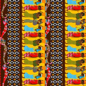 African Tea Towel