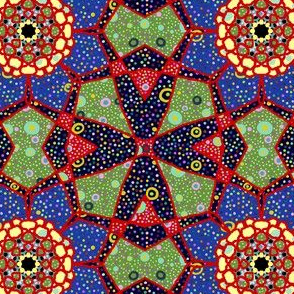 Char: Patchwork Flower Kaleidoscope
