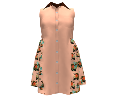 Odin's Dream Coordinate Solid Rust - for peach/blue/brown version