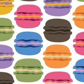 Rainbow Macarons Large