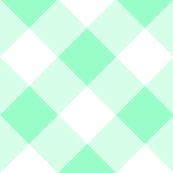 On Point Gingham // Mint Green // Cheater Quilt