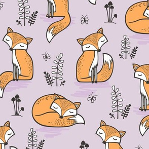 Dreamy Fox in Orchid Ice