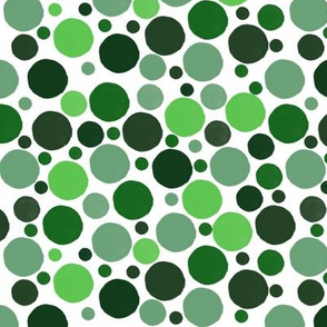 Mixed Greens Dots