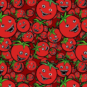 laughing tomatoes