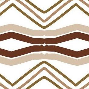 Brown Chevron