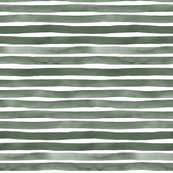 Stone Grey Watercolor Stripes by Friztin