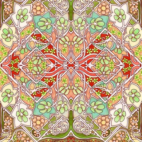 Meandering celtic garden wallpaper edsel2084 spoonflower for Celtic garden designs