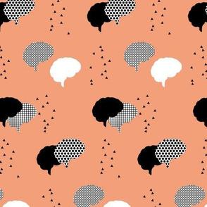Confetti | Dark Salmon