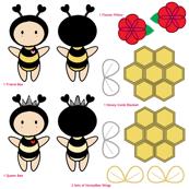 Bugaboo - Red Flower Honey Bee