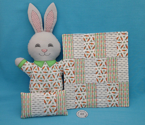 Bunny's Triangle Lines Stripes