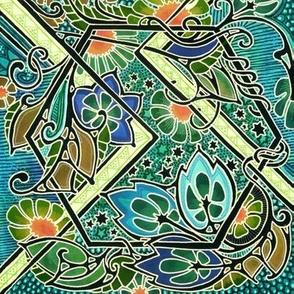 Star Garden  Window