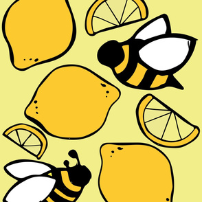 Bees and Lemons for Lemonade