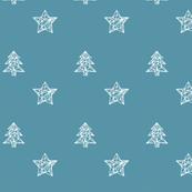 Christmas 1 Blue